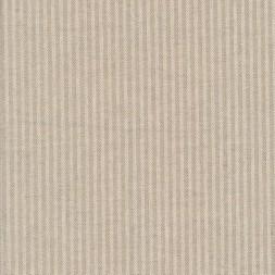 Kraftig bomuld/polyester i stribet sildeben i off-white og sand-20