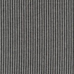 Kraftig bomuld/polyester i stribet sildeben i off-white og sort-20