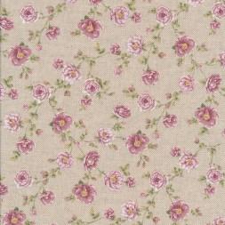Hør-look med små rosa blomster-20
