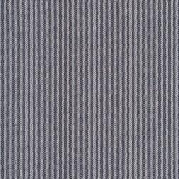 Kraftig bomuld/polyester i stribet sildeben i off-white og mørkeblå-20