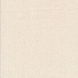 Kraftig bomuld/polyester i stribet sildeben i off-white og knækket hvid-20