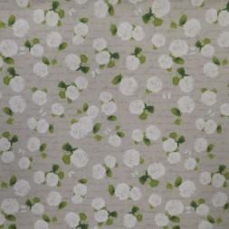 Hør-look med hvide hortensia og sommerfugl-20