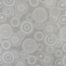 Hør-look med cirkler i hvid-20