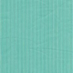 Stribet bomuld polyester m/stræk, grøn/hvid-20