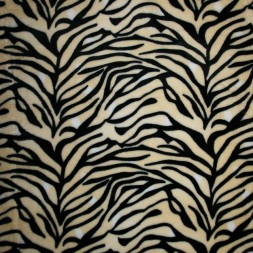 Fleece med tigerstriber, creme, sort, hvid-20