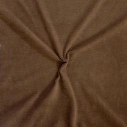 Micro Fleece i chokoladebrun-20