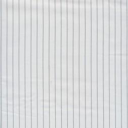 Acetat foer i knækket hvid med smal sort strib-20