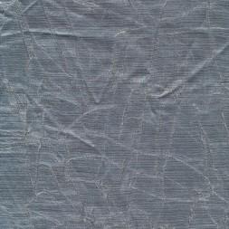 Krakeleret viscose/polyester i sølv-look-20