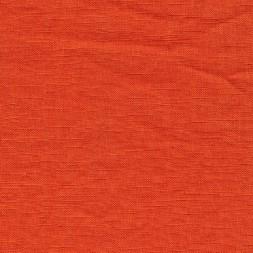 Let 100% vasket hør i støvet orange-20