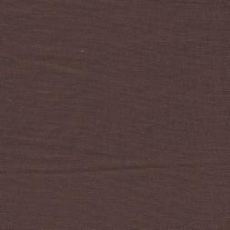 Let viskose/hør i chokoladebrun-20