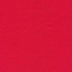 Let viskose/hør i koral-rød-20