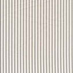 Viskose/Hør stribet i knækket hvid og sand-20