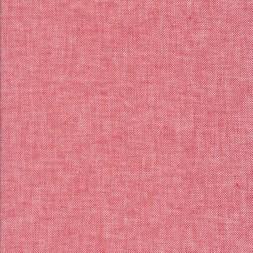 Sildebensvævet Hør/Bomuld i rød og hvid-20