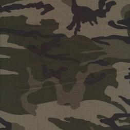 Isoli m/army-print grå-grøn/sort/army-20