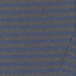 Isoli med striber meleret grå-støvet blå-20