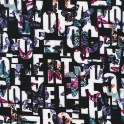Isoli i sort med bogstaver og sommerfugle-20