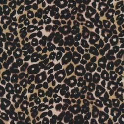 Bomuld/lycra økotex m/dyreprint, leopard-20