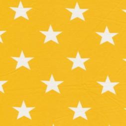 Bomuld/lycra økotex m/stjerner gul/hvid-20
