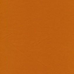 Jersey økotex bomuld/lycra i lys brændt orange-20