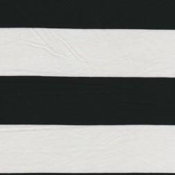 Rest Let jersey m/brede striber hvid/sort, 100 cm.-20