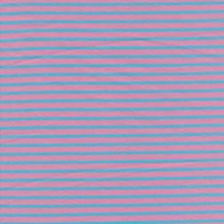 Bomuld/elasthan økotex m/striber rosa/lys turkis-20
