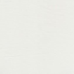jersey i økologisk dyrket bomuld i hvid