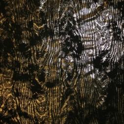 Jersey med træ-åre look i sort og guld-20