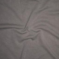Ribstrikket jersey i modal i lys støvet grå-brun-20