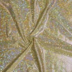 Jersey-Dansekjole-stof i paliet-look, guld-20