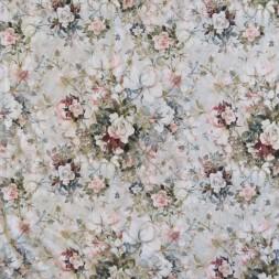 Bomuldsjersey økotex m/digitalt tryk med roser i sarte farver-20