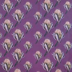 Bomuldsjersey m/digitalt tryk med artiskok blomst i lyng-20