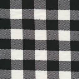 Jersey i Bomuld/lycra med tern i sort og hvid-20