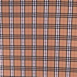 Jersey i Bomuld/lycra med tern i pudder-beige, rød, sort og hvid-20