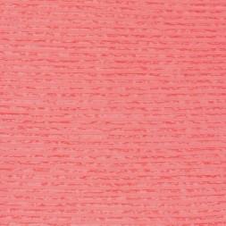 Let Jersey med transparente striber i koral-20