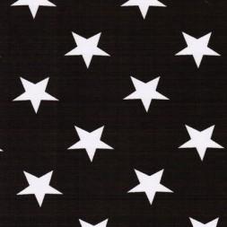Bomuld/lycra økotex m/stjerner mørkebrun/hvid-20