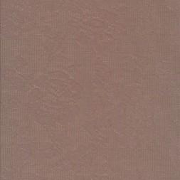 Rest Let bomulds-jersey pudder-brun med blomster struktur 100 cm.-20