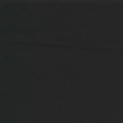 Stof i 100% bomuld Halv Panama i sort