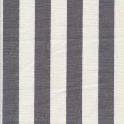 Liggestole stof stribet grå/off-white-20