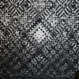Neopren-jersey scuba, mønstret grå/lysegrå/hvid-20
