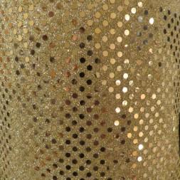 Paillet stof i guld-20