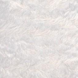 Langhåret pels i hvid-20