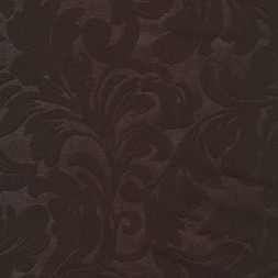 Rest Jacquard i uld-look, mørkebrun, 85 cm.-20