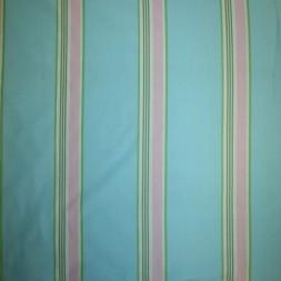 Rest Polyester m/striber turkis/lime/lyserød 60 cm.-20