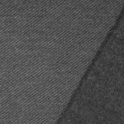 Twill vævet i uld-look i grå og lys grå-20