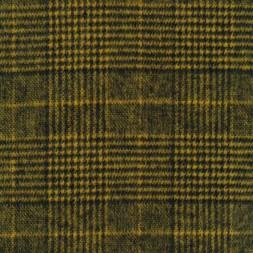Ternet uld-look i sort og carry-gul-20