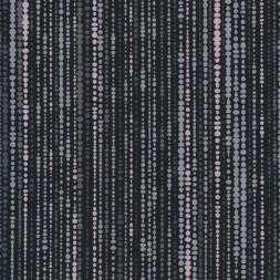 Patchwork stof med bobler og striber i sort og grå-20