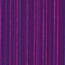 Afklip Patchwork stof med bobler og striber i lilla og cerisse 50x55 cm.-20