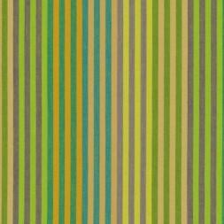 Patchwork af Kaffe Fassett stribet Woven stof i grøn, gul og bei-20
