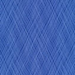 Patchworkstof med skrå striber i blå og lyseblå-20