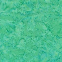 Afklip Patchworkstof batik i opal og mint, 50x55 xm.-20